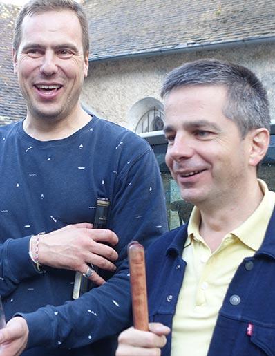Fabrice Roszczka (DGA) & Didier Roche (DG)